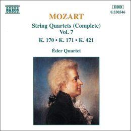 Mozart: String Quartets, K. 170, 171, 421