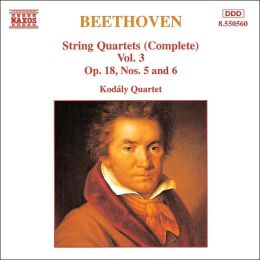Beethoven: String Quartets, Vol. 3