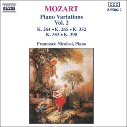 Mozart: Piano Variations, Vol. 2