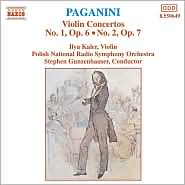 Paganini: Violin Concertos No. 1, Op. 6 & No. 2, Op. 7