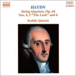 Haydn: String Quartets, Op. 64, Nos. 4-6