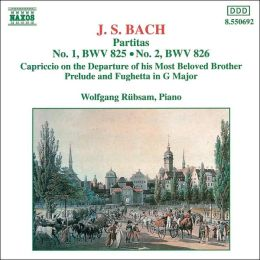 J.S. Bach: Partitas Nos. 1 and 2