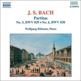 Bach: Partitas Nos. 5 & 6