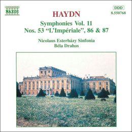 Haydn Symphonies, Vol. 11: 53, 86 & 87