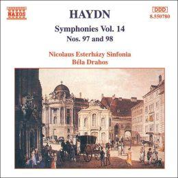 Haydn: Symphonies, Vol. 14 (Nos. 97 & 98)