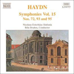 Haydn: Symphonies Nos. 72, 93 & 95