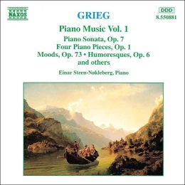 Grieg: Piano Music, Vol. 1