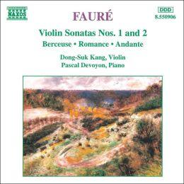 Fauré: Violin Sonatas Nos. 1 & 2