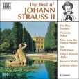 CD Cover Image. Title: The Best of Johann Strauss II