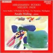 Hans Abrahamsen: 7 Studies; Poul Ruders: 13 Postludes for Piano; Tage Nielsen: 2 Nocturnes; Steen Pade: Florilgium