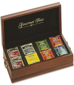 Handcrafted Gourmet Tea Chest