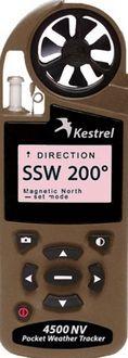 Kestrel 4500 Tan Colored, Night Vision Handheld Anemometer