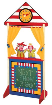 ALEX Puppet Theater with Clock