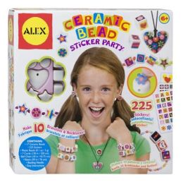 Ceramic Bead Sticker Party