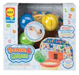 Alex Toys Score & Learn Bath Toy