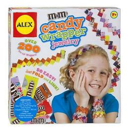 Alex Toys M&MS Candy Wrapper Jewelry