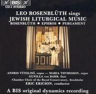 Leo Rosenblüth Sings Jewish Liturgical Music