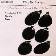 Claudio Santoro: Symphonies 4 & 9; Ponteio; Frevo