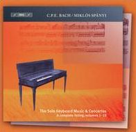 C.P.E. Bach: Concetos & Solo Keyboard Music, Vol. 15