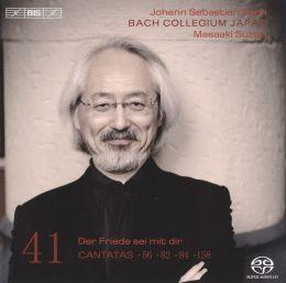 Bach: Cantatas, Vol. 41: Der Fried sei mit dir - Cantatas 56, 82, 84, 158