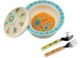 SugarBooger Bowl Gift Set - Robot