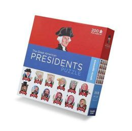 Presidents 200 Piece puzzle