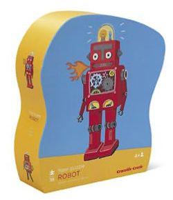 Robot Shaped Box 36 pc Floor Puzzle