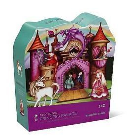 Princess Palace Shaped Box 32 Piece Floor Puzzle