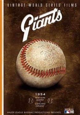 Vintage World Series Films: Giants - 1954