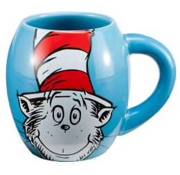 Dr. Seuss Cat in the Hat Boxed Oval Mug