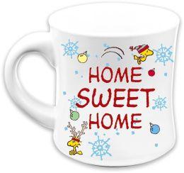Peanuts Snoopy Home Sweet Home 12oz Flute Mug
