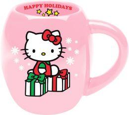 Hello Kitty Happy Holidays Oval Mug - 18 oz.