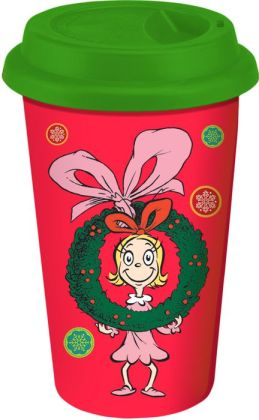Dr. Seuss Cindy Lou Who & Max Travel Tumbler