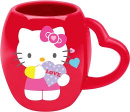 Hello Kitty Valentine's Day Oval Ceramic Mug, 18 oz.