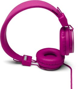 Urbanears Plattan On-Ear Stereo Headphones - Raspberry