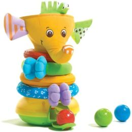 Musical Stack n Ball Elephant
