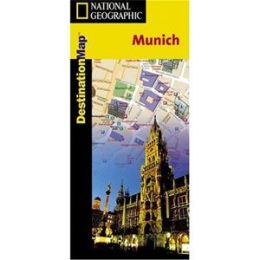 National Geographic DC00622039 Map Of Munich