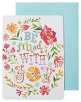 Product Image. Title: Be Filled with Joy Boxed Note Card Set of 10