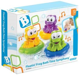 Floatin' Frog Bath Time Symphony
