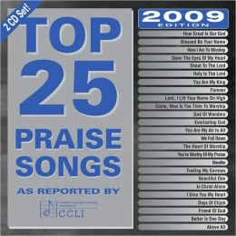Top 25 Praise Songs for 2009