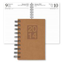 2014 Daily Desk Country Tan Engagement Calendar