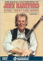 The Banjo According to John Hartford: Licks, Ideas and Music, Vol. 1