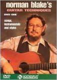 Video/DVD. Title: Norman Blake's Guitar Techniques