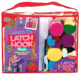 Learn to Latch Hook Set & Book