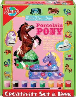 Paint Your Own Porcelain Pony
