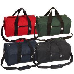 Everest Trading 1008D-BK 19 in. Basic Duffel Gear Bag