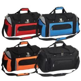 Everest Trading S232-BK 24 in. Deluxe Sports Duffel Bag