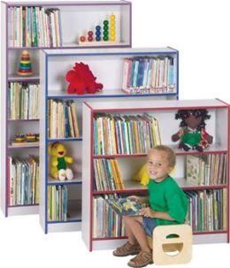 Jonti-Craft 0960JC112 Bookcase - 36 Inches High - Navy
