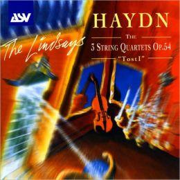 Haydn: The 3 String Quartets, Op. 54