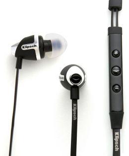 Klipsch Image S4i II In-Ear Headphones - Black